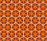 Honeycomb pattern. Seamless design.