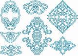 classic oriental swirl ornament