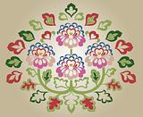 flower emblem design