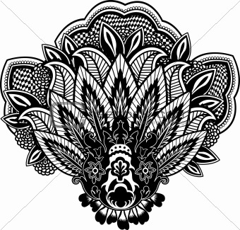 paisley flower design