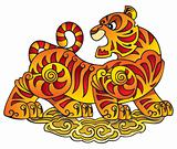 Chinese Tiger, symbol of the year
