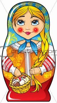 Russian nesting doll – matryoshka