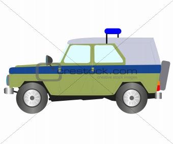 Car dune buggy