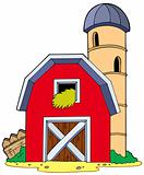 Barn with granary