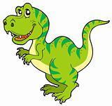 Cartoon tyrannosaurus rex