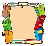 Frame from various books