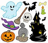 Set of Halloween images