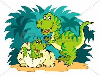 Tyrannosaurus rex family