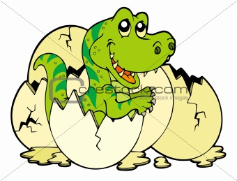 Young tyrannosaurus rex