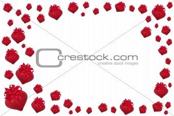 Valentine Heart Baubles