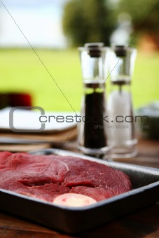fresh and very tasty steak
