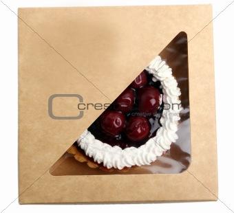 fresh and tasty sweet cake