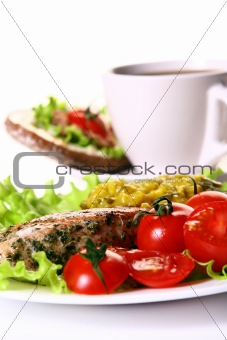 fresh and very tasty food