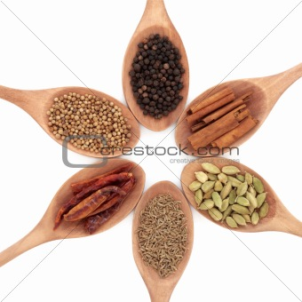 Six Spice Selection