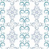White seamless christmas pattern