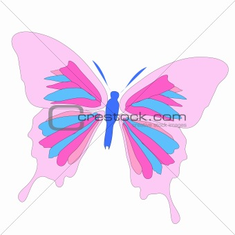 Beautiful butterfly illustration