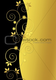 Beautiful., golden background