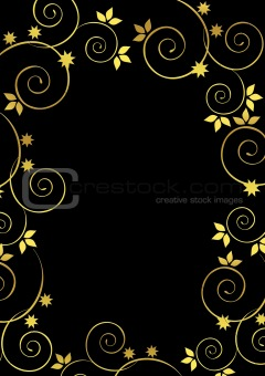 Beautiful., golden background