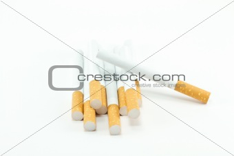 a bunch of cigarettes