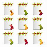 christmas socks frames