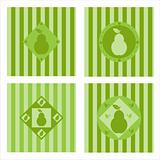 cute pear backgrounds