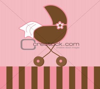 Baby Girl Stroller