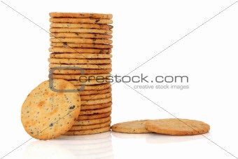 Olive Cracker Biscuits