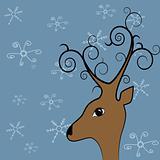 Xmas deer