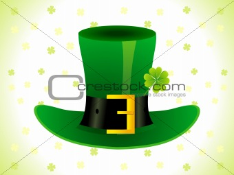 abstract st patricks day card