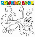 Coloring book baby collection