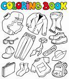 Coloring book with apparel 1