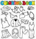 Coloring book with apparel 2