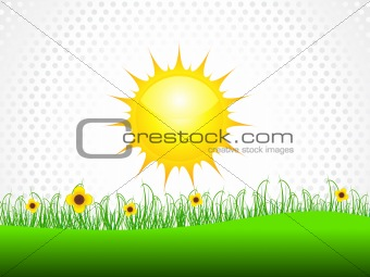 abstract sun holiday background