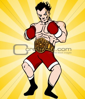 Boxing Champion
