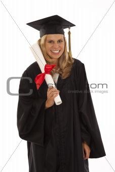Young female graduate