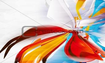 abstract form, design elements, fantastic background