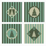 cute christmas tree backgrounds