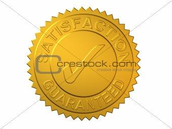 Satisfaction Guaranteed Gold Seal