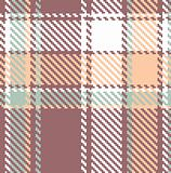 Seamless textured tartan plaid vector pattern