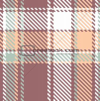 Seamless textured tartan plaid vector pattern