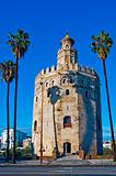 Torre del Oro, in Seville, Spain
