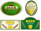 Beer labels design