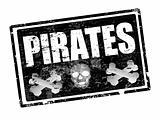 Pirates stamp
