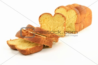 Sliced Loaf Egg Bread.