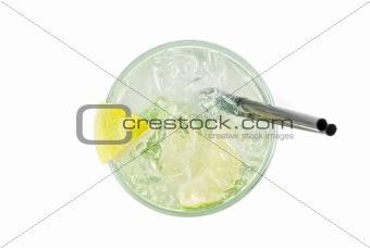 alcohol fresh cocktail closeup
