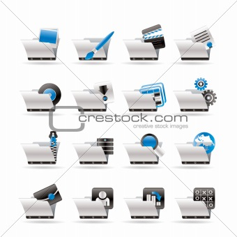 Computer and Phone Icons