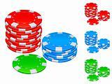 Gambling chips.