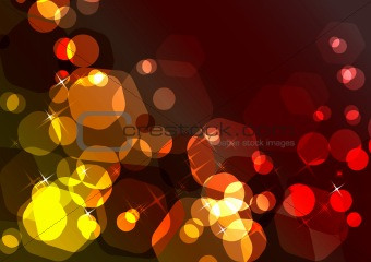 Bright sparkling festive background