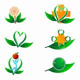 natural health icons