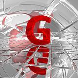 g in futuristic space